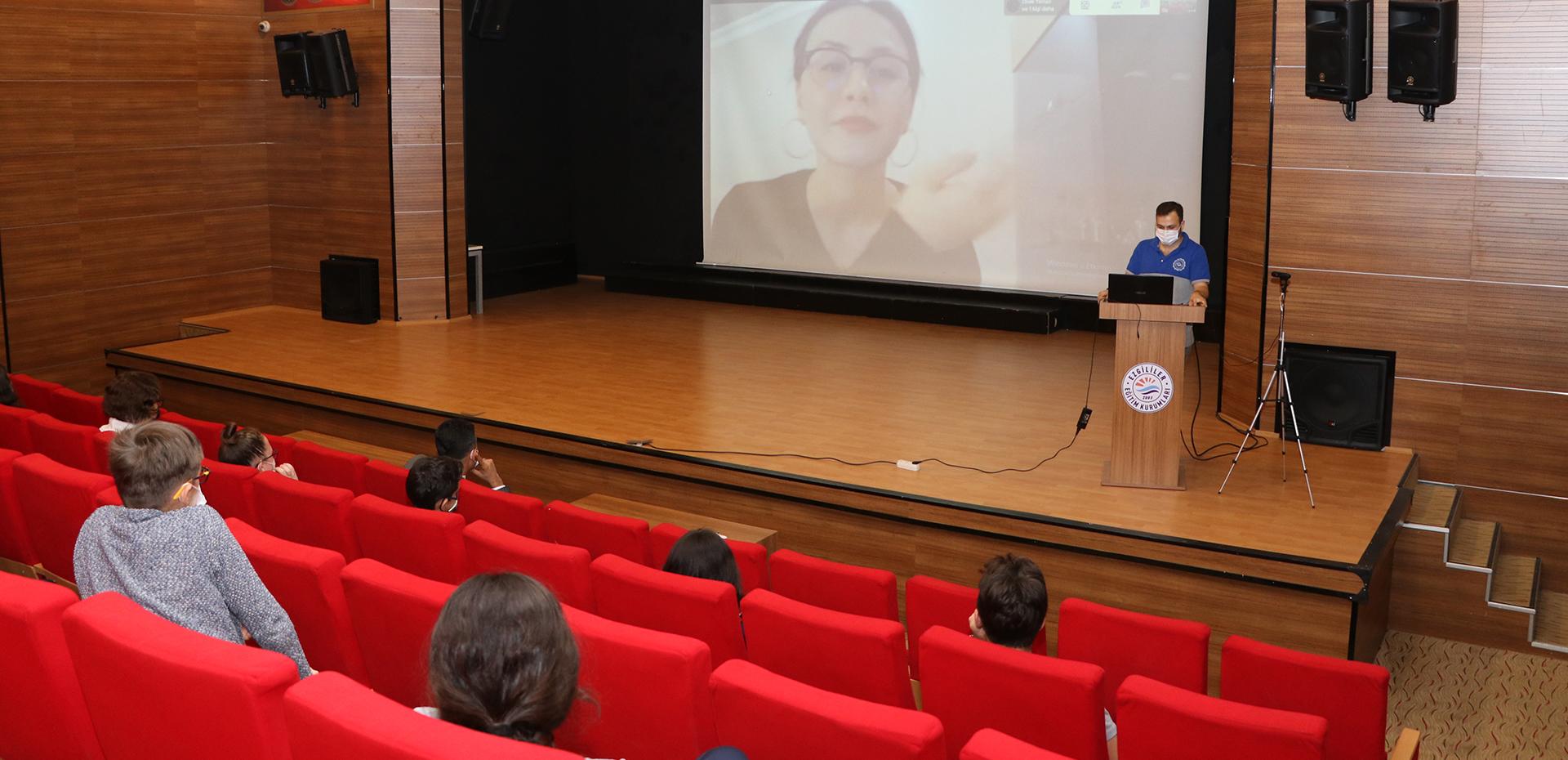 8. SINIFLARIMIZ İLE ''KENDİME GÜVENİYORUM'' REHBERLİK ÇALIŞMASI